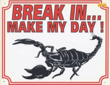 Break in make my day Schorpioen