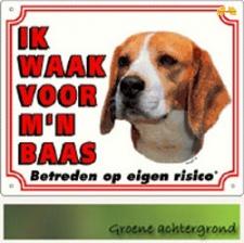 Kleur: Ik waak voor mijn baas Beagle 1